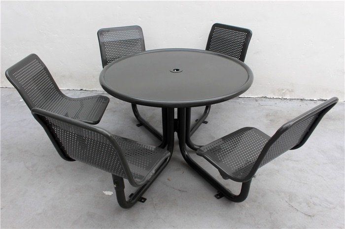 Commercial Steel Picnic Table / SPP-207