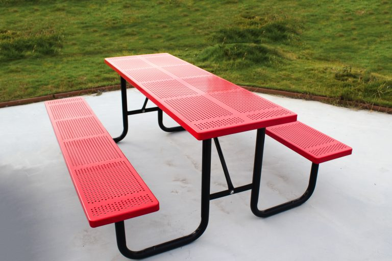 Commercial Steel Picnic Table / SPP-201
