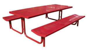 Commercial Steel Picnic Table SPP-308 Cover Image