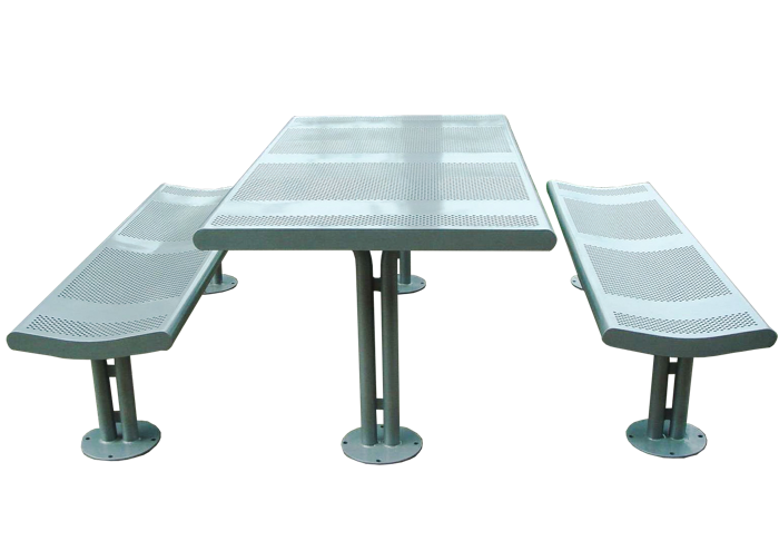 Commercial Steel Picnic Table SPP-308B Cover Image