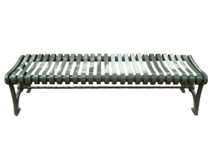 Commercial Outdoor Backless Metal Bench SPB-402 Cover Image