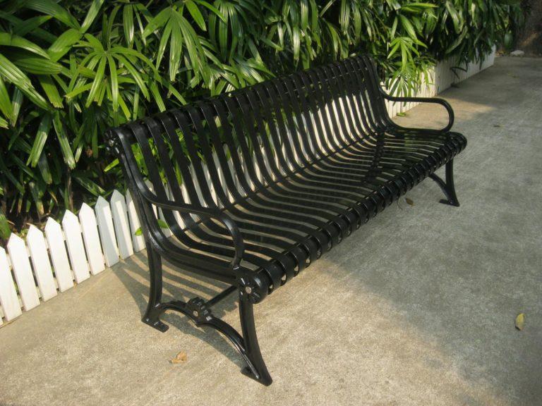 Commercial Outdoor Metal Bench SPB-301