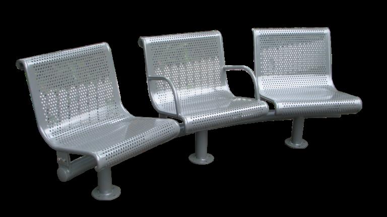 Commercial Metal Park Bench / SPB-022