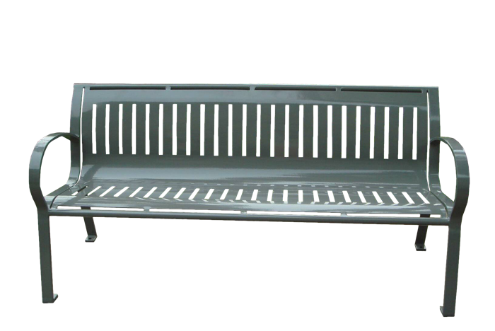 Commercial Outdoor Metal Park Bench SPB-074 Cover Image