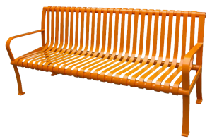 Commercial Outdoor Metal Park Bench SPB-077 Cover Image