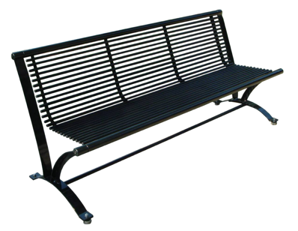 Commercial Outdoor Metal Park Bench SPB-078 Cover Image