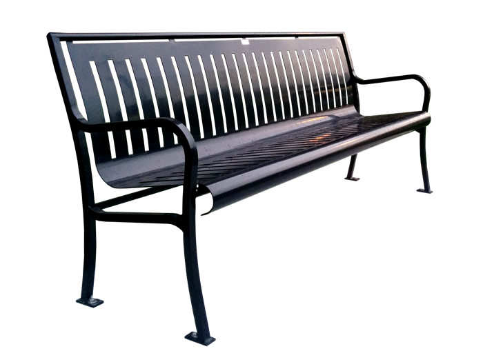 Commercial Outdoor Metal Park Bench SPB-079 Cover Image