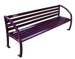 Commercial Outdoor Metal Park Bench SPB-085 Cover Image