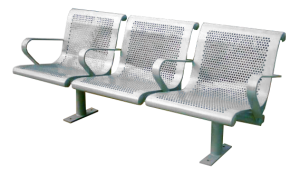 Commercial Outdoor Metal Park Bench SPB-127 Cover Image