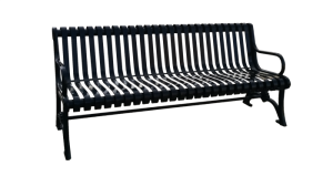 Commercial Outdoor Metal Park Bench SPB-301 Cover Image