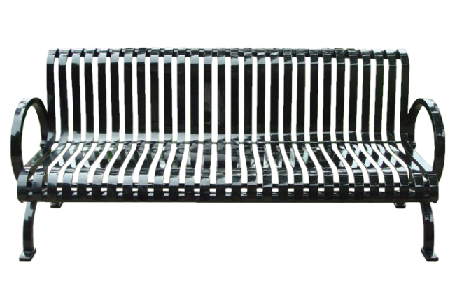 Commercial Outdoor Metal Park Bench SPB-302S Cover Image