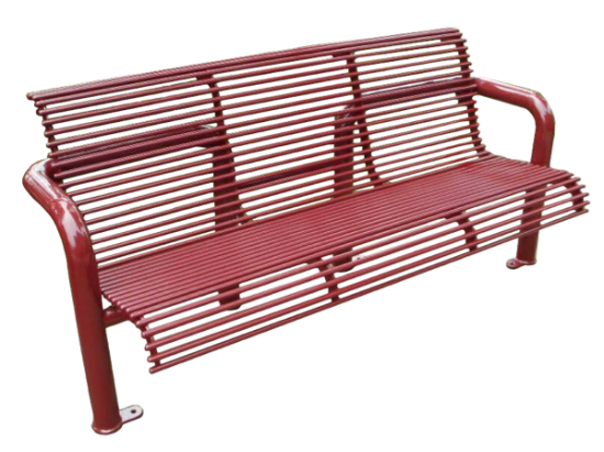 Commercial Outdoor Metal Park Bench SPB-308 Cover Image