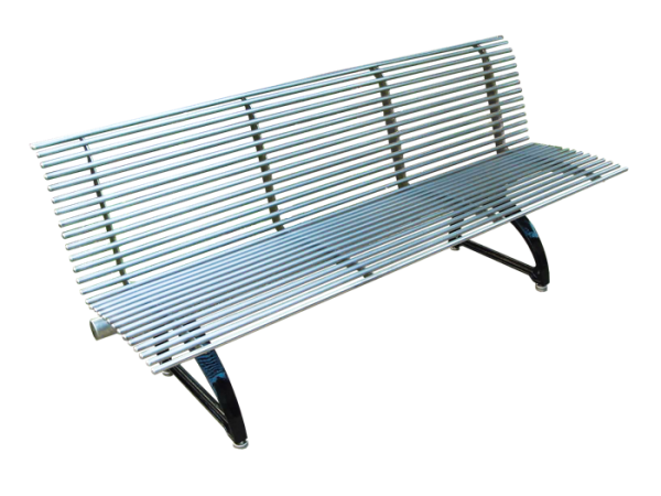 Commercial Outdoor Metal Park Bench SPB-310 Cover Image