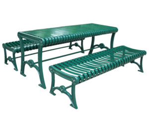 Commercial Outdoor Steel Picnic Table SPP-304 Cover Image