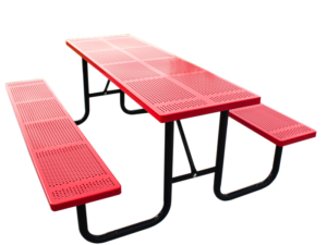Commercial Outdoor Steel Picnic Table SPP-201 Cover Image