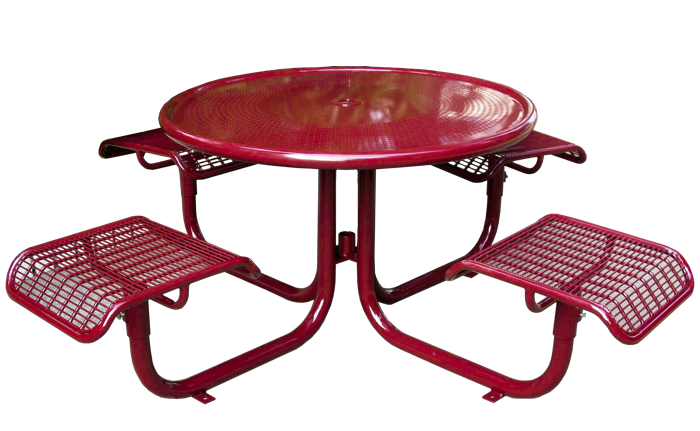 Commercial Outdoor Steel Picnic Table SPP-207B Cover Image