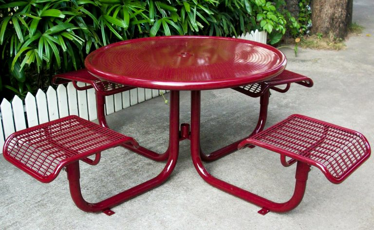 Commercial Outdoor Picnic Table SPP-207B Image 1