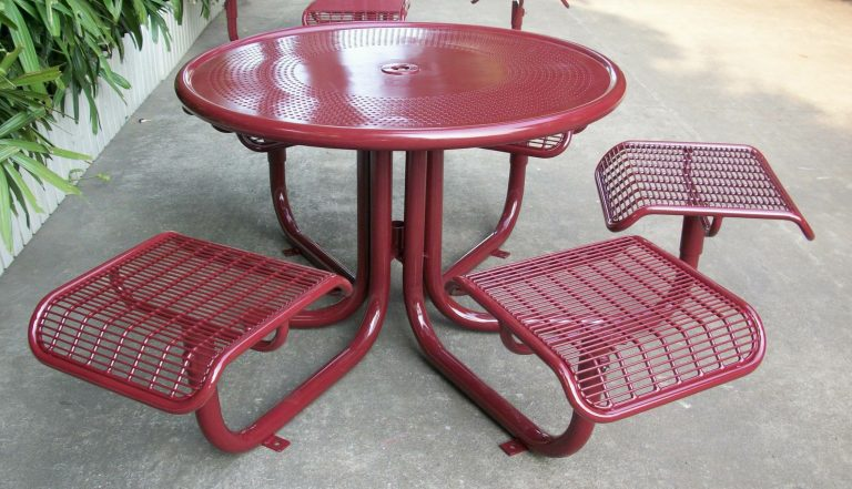 Commercial Outdoor Picnic Table SPP-207B Image 2