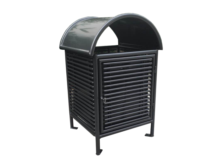 Commercial Outdoor Trash Receptacle SPT-101 Cover Image