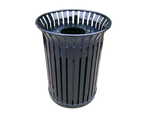 Commercial Outdoor Trash Receptacle SPT-104 Cover Image