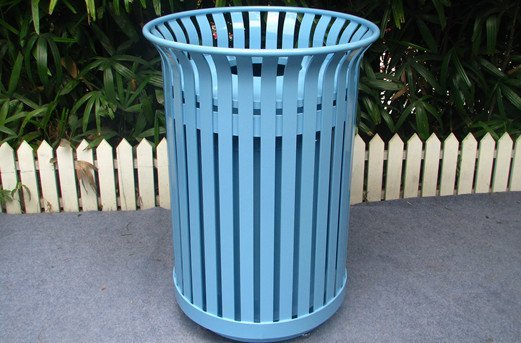 Commercial Outdoor Trash Receptacle SPT-104 Image 3