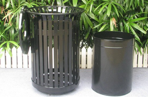 Commercial Outdoor Trash Receptacle SPT-104 Image 4