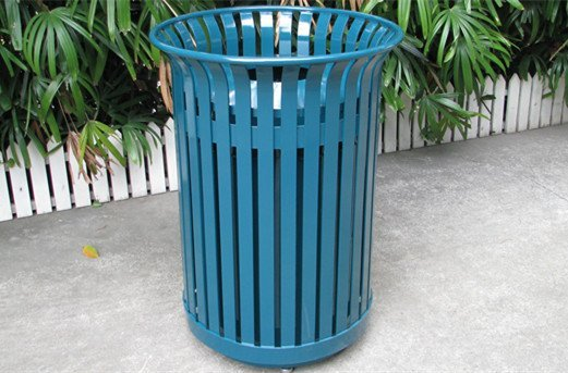 Commercial Outdoor Trash Receptacle SPT-104 Image 5