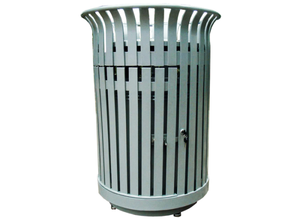 Commercial Outdoor Trash Receptacle SPT-104B Cover Image