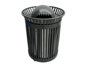 Commercial Outdoor Trash Receptacle SPT-105 Cover Image