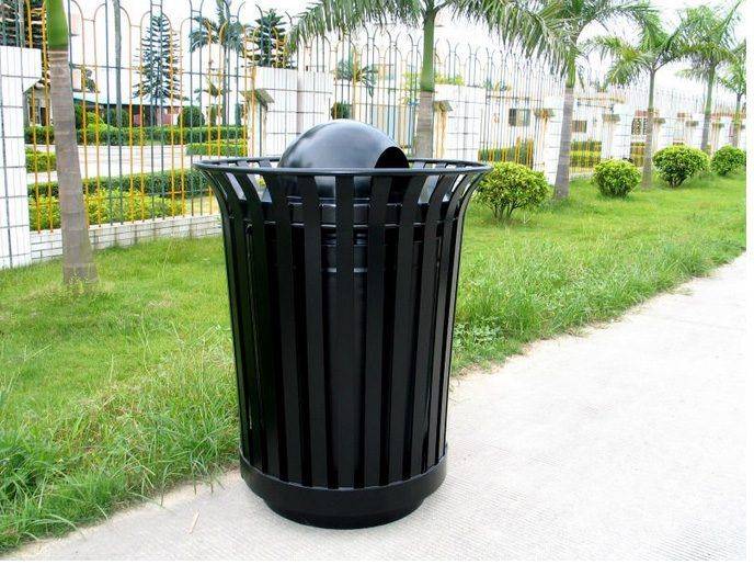Commercial Outdoor Trash Receptacle SPT-105 Image 1