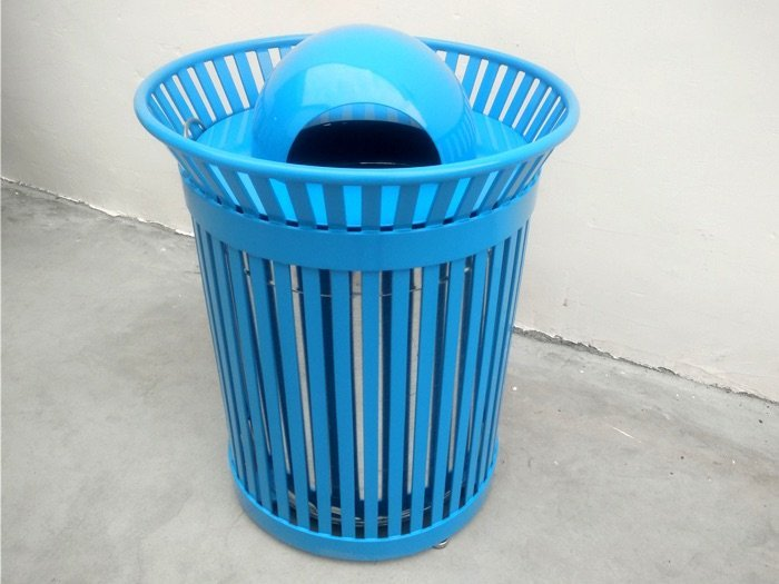 Commercial Outdoor Trash Receptacle SPT-105 Image 2