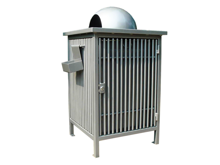 Commercial Outdoor Trash Receptacle SPT-107 Cover Image