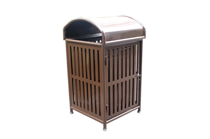 Commercial Outdoor Trash Receptacle SPT-110A Image 1