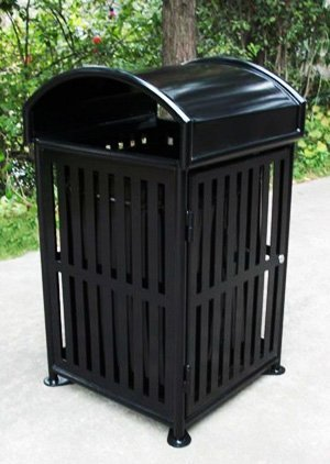 Commercial Outdoor Trash Receptacle SPT-110A Image 3