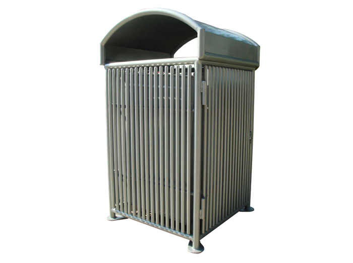 Commercial Outdoor Trash Receptacle SPT-110B Cover Image
