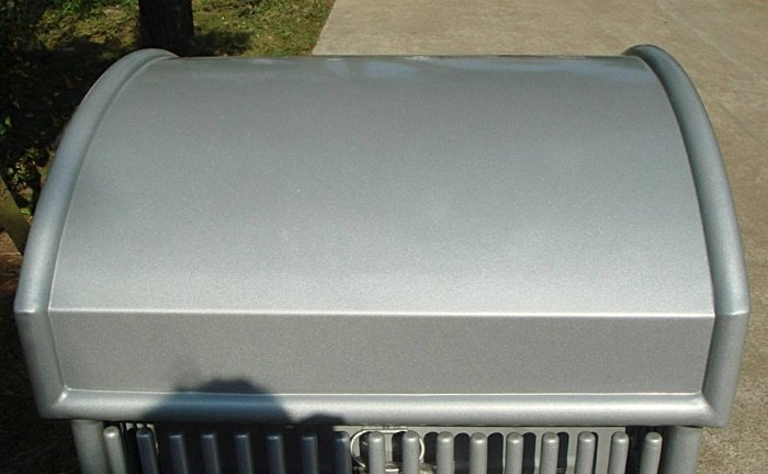 Commercial Outdoor Trash Receptacle SPT-110B Image 1