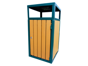 Commercial Outdoor Trash Receptacle SPT-201 Cover Image