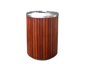 Commercial Outdoor Trash Receptacle SPT-206 Cover Image