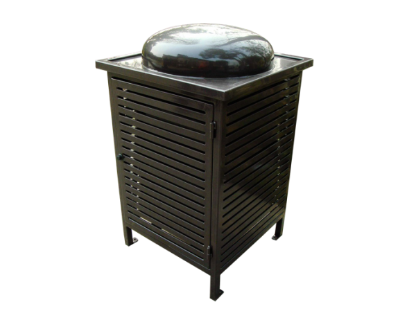 Commercial Outdoor Trash Receptacle SPT-C13 Cover Image