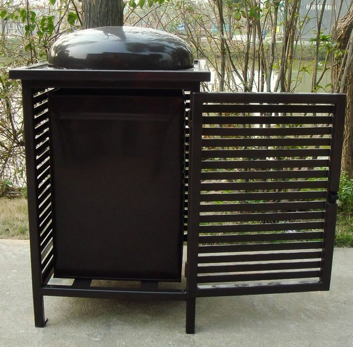 Commercial Outdoor Trash Receptacle SPT-C13 Image 1