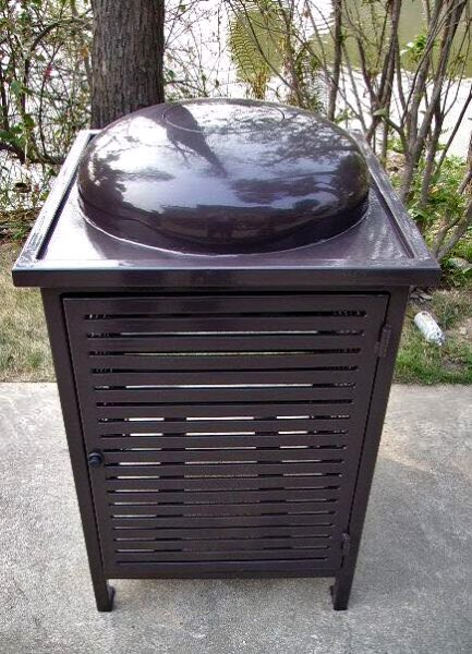 Commercial Outdoor Trash Receptacle SPT-C13 Image 2