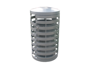 Commercial Outdoor Trash Receptacle SPT-C15 Cover Image