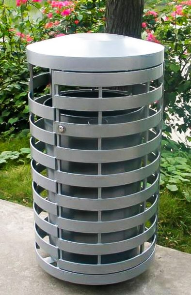 Commercial Outdoor Trash Receptacle SPT-C15 Image 2