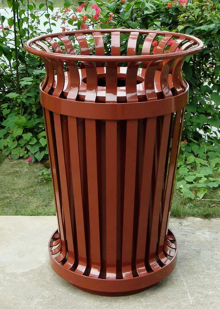 Commercial Outdoor Trash Receptacle SPT-C21 Image 1