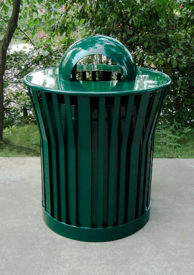 Commercial Outdoor Trash Receptacle SPT-C28 Image 1