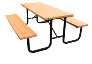 Commercial Recycled Plastic Outdoor Picnic Table SPP-101 Cover Image