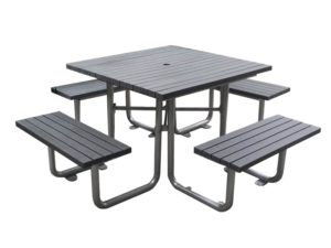 Commercial Recycled Plastic Outdoor Picnic Table SPP-103 Cover Image