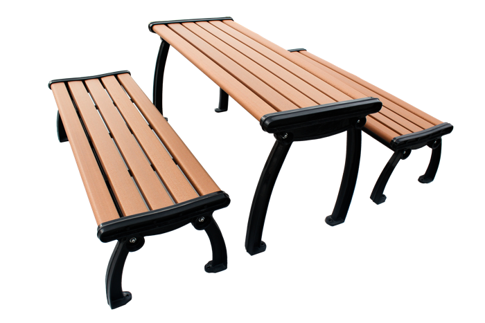 Commercial Recycled Plastic Outdoor Picnic Table SPP-303 Cover Image