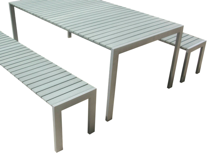Commercial Recycled Plastic Outdoor Picnic Table SPP-305 Cover Image
