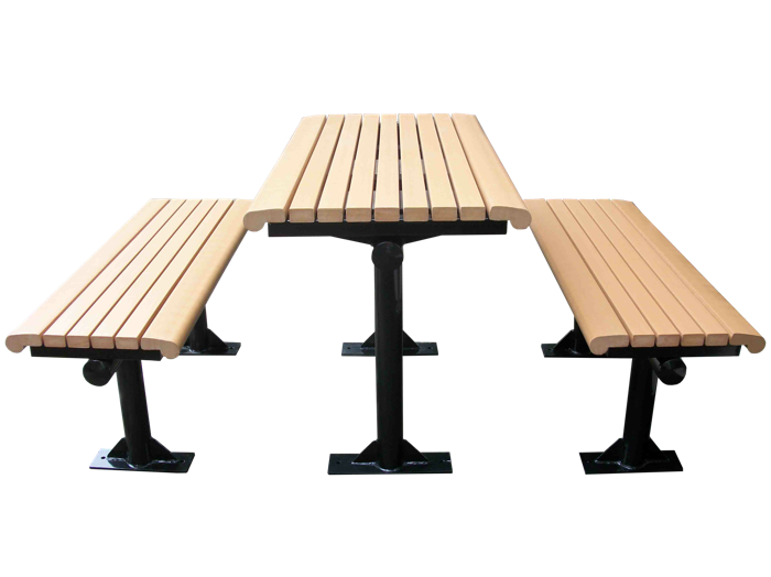 Commercial Recycled Plastic Outdoor Picnic Table SPP-C01 Cover Image